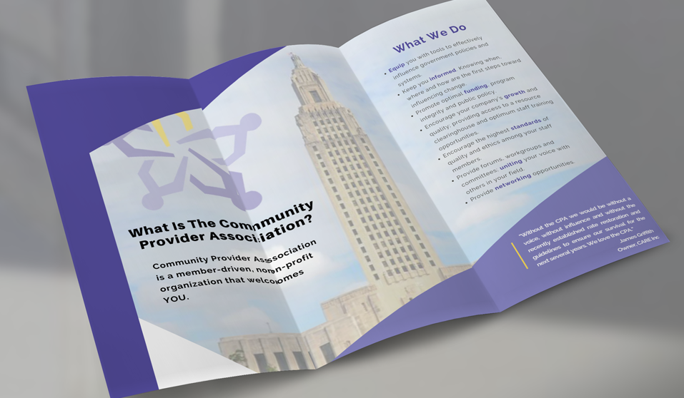 Get to know the CPA - Peek into Our Digital Tri-fold Today!